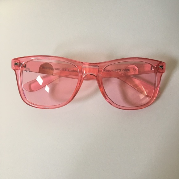 c6741426f910 Rainbow OPTX Rose Wayfarer NEW. M 5a91cab245b30cdb7c4e3e7d. Other  Accessories ...